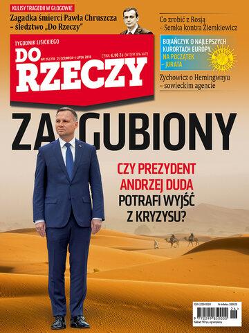 Okładka tygodnika DoRzeczy nr 26/2018 (278)