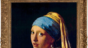 Z głową w chmurach Vermeera