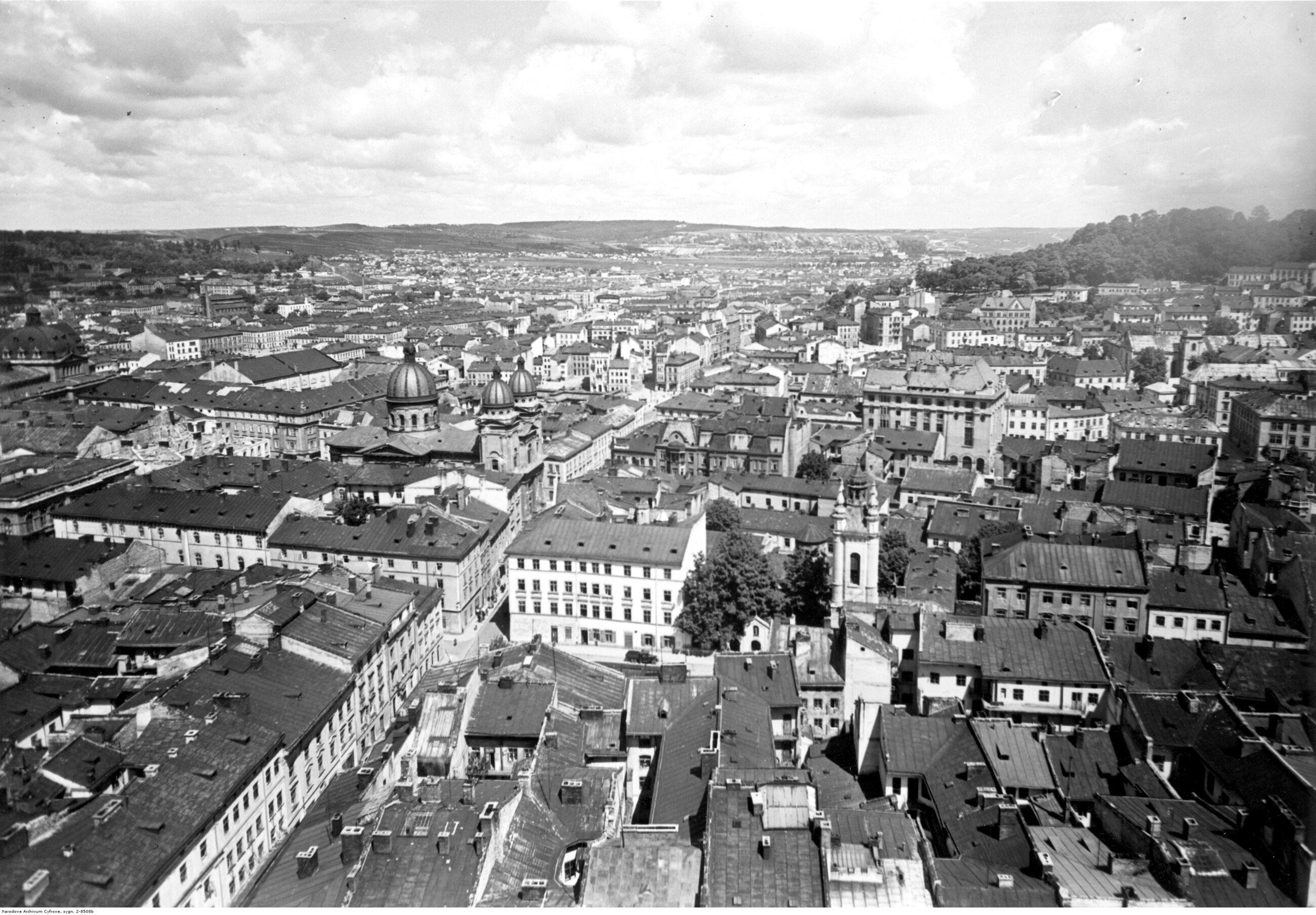 Lwów Do początku XX wieku Lwów był drugim największym polskim miastem. W II RP był trzeci pod względem liczby ludności. Obecnie również tylko dwa polskie miasta są większe od Lwowa. Liczba ludności w 1939 r.: 318 tys., obecnie: 729 tys.