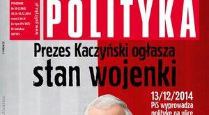 """Stan wojenny """"Polityki"""""""