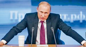 Putin walczy o przetrwanie